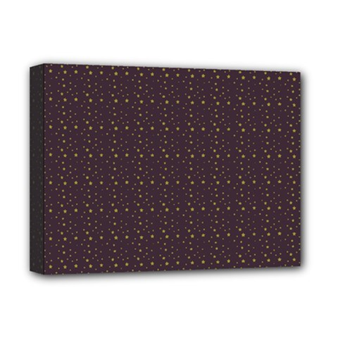 Pattern Background Star Deluxe Canvas 16  X 12