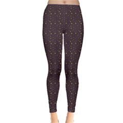 Pattern Background Star Leggings