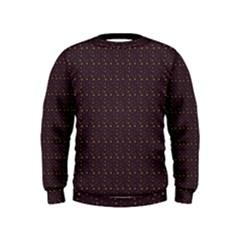 Pattern Background Star Kids  Sweatshirt