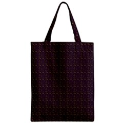 Pattern Background Star Zipper Classic Tote Bag