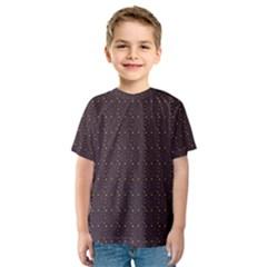 Pattern Background Star Kids  Sport Mesh Tee