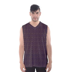 Pattern Background Star Men s Basketball Tank Top