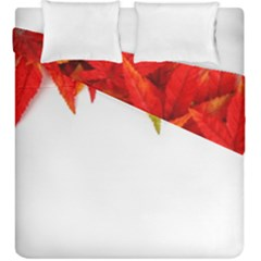 Abstract Autumn Background Bright Duvet Cover Double Side (king Size)