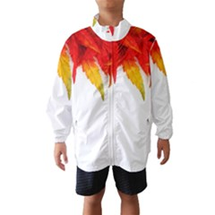 Abstract Autumn Background Bright Wind Breaker (kids)