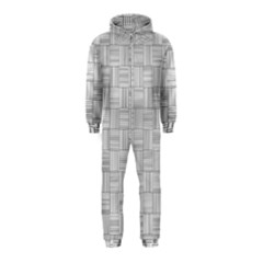 Flooring Household Pattern Hooded Jumpsuit (kids)