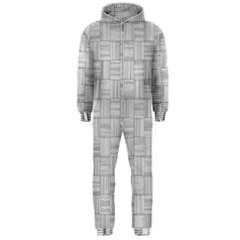 Flooring Household Pattern Hooded Jumpsuit (Men)