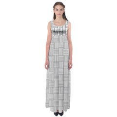 Flooring Household Pattern Empire Waist Maxi Dress