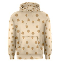 Pattern Gingerbread Star Men s Pullover Hoodie