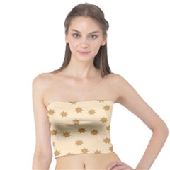 Pattern Gingerbread Star Tube Top