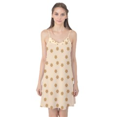 Pattern Gingerbread Star Camis Nightgown