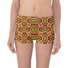 Geometry Shape Retro Trendy Symbol Boyleg Bikini Bottoms