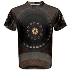 Pattern Design Symmetry Up Ceiling Men s Cotton Tee