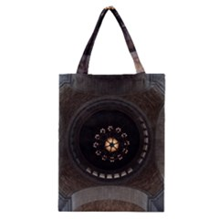Pattern Design Symmetry Up Ceiling Classic Tote Bag