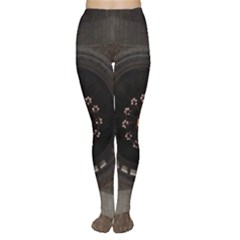 Pattern Design Symmetry Up Ceiling Women s Tights