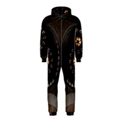 Pattern Design Symmetry Up Ceiling Hooded Jumpsuit (kids)