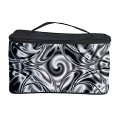 Gray Scale Pattern Tile Design Cosmetic Storage Case