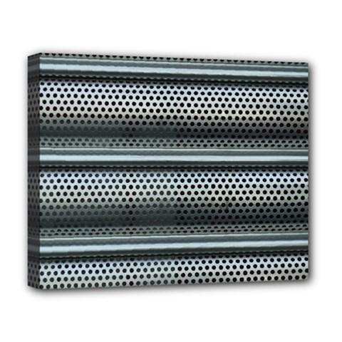 Sheet Holes Roller Shutter Deluxe Canvas 20  X 16