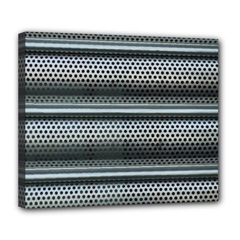 Sheet Holes Roller Shutter Deluxe Canvas 24  X 20