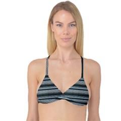 Sheet Holes Roller Shutter Reversible Tri Bikini Top