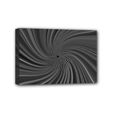 Abstract Art Color Design Lines Mini Canvas 6  X 4