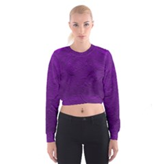 Texture Background Backgrounds Cropped Sweatshirt