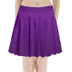 Texture Background Backgrounds Pleated Mini Skirt