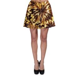 Mussels Lamp Star Pattern Skater Skirt