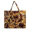 Mussels Lamp Star Pattern Zipper Large Tote Bag View1