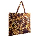 Mussels Lamp Star Pattern Zipper Large Tote Bag View2