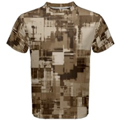 Color Abstract Background Textures Men s Cotton Tee