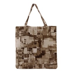 Color Abstract Background Textures Grocery Tote Bag