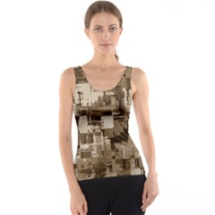 Color Abstract Background Textures Tank Top