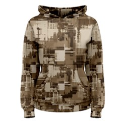 Color Abstract Background Textures Women s Pullover Hoodie