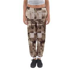 Color Abstract Background Textures Women s Jogger Sweatpants