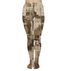 Color Abstract Background Textures Women s Tights