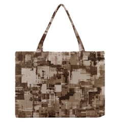 Color Abstract Background Textures Medium Zipper Tote Bag
