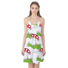 Mushroom Luck Fly Agaric Lucky Guy Camis Nightgown