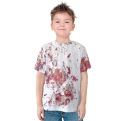 Abstract Reds Kids  Cotton Tee