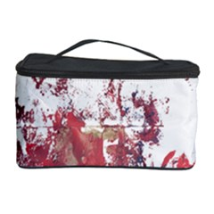 Abstract Reds Cosmetic Storage Case
