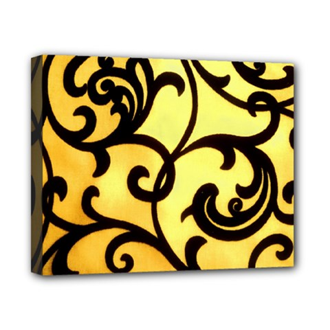 Texture Pattern Beautiful Bright Canvas 10  X 8