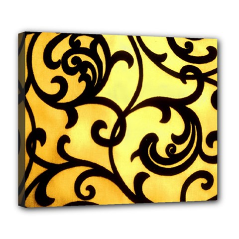 Texture Pattern Beautiful Bright Deluxe Canvas 24  X 20