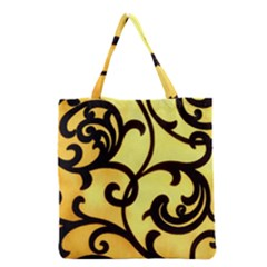 Texture Pattern Beautiful Bright Grocery Tote Bag