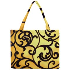 Texture Pattern Beautiful Bright Mini Tote Bag