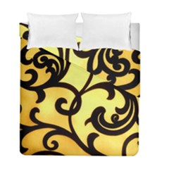 Texture Pattern Beautiful Bright Duvet Cover Double Side (full/ Double Size)