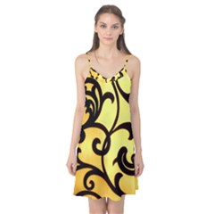 Texture Pattern Beautiful Bright Camis Nightgown
