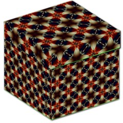 Kaleidoscope Image Background Storage Stool 12