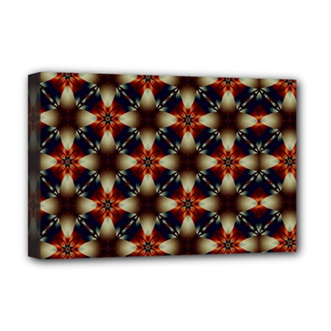 Kaleidoscope Image Background Deluxe Canvas 18  X 12