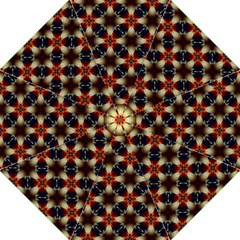Kaleidoscope Image Background Hook Handle Umbrellas (large)