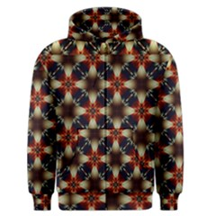 Kaleidoscope Image Background Men s Zipper Hoodie