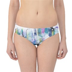 Background Color Circle Pattern Hipster Bikini Bottoms
